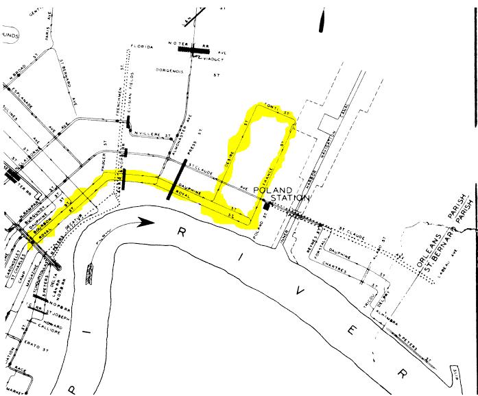 streetcar map 1926